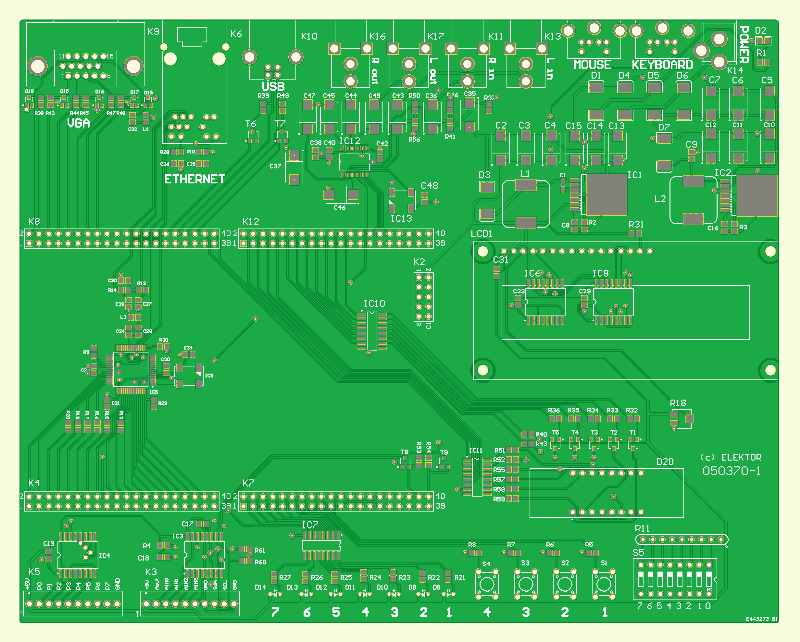 FPGA Prototyping Board (050370-1)