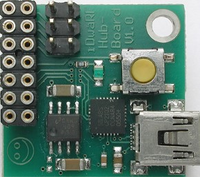 iDwaRF: a networkable WirelessUSB radio module (050402-93)
