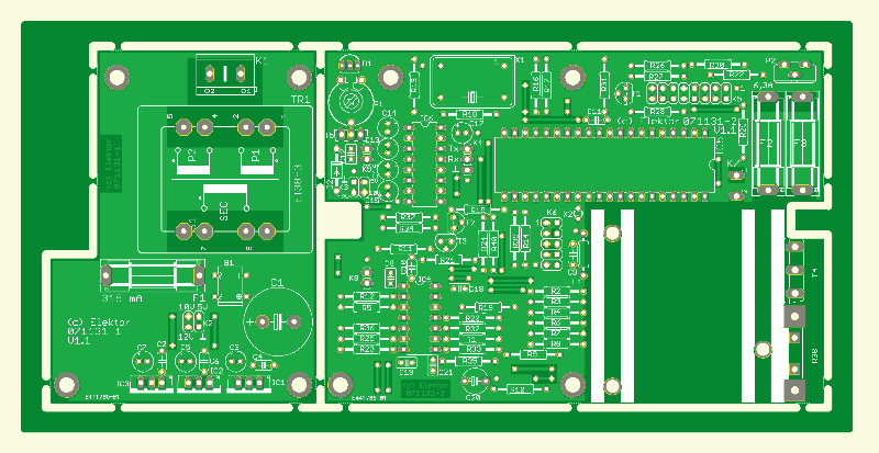 Battery Checker PCB