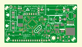 Battery Monitor PCB [080824-1]