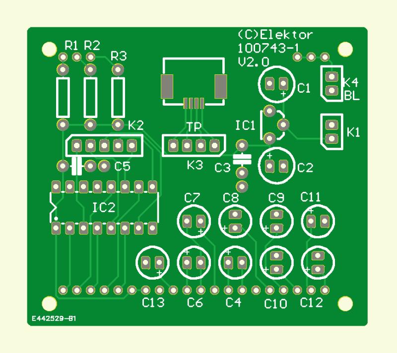 A String of 160 RGB LEDs PCB