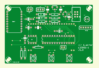 USB Long-Term Weather Logger PCB (100888-1)