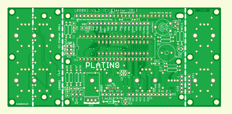 Platino PCB (100892 | old version]