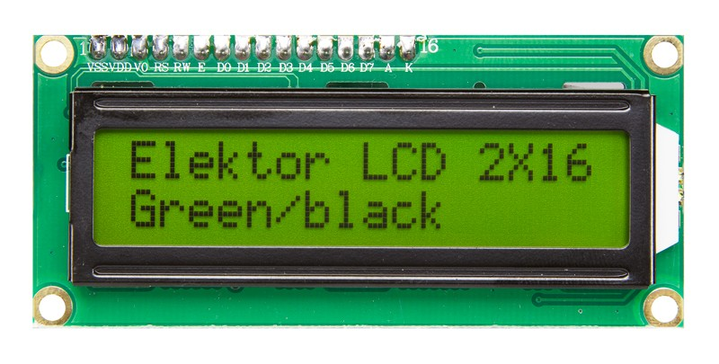 2x16 Character LCD (120061-74)