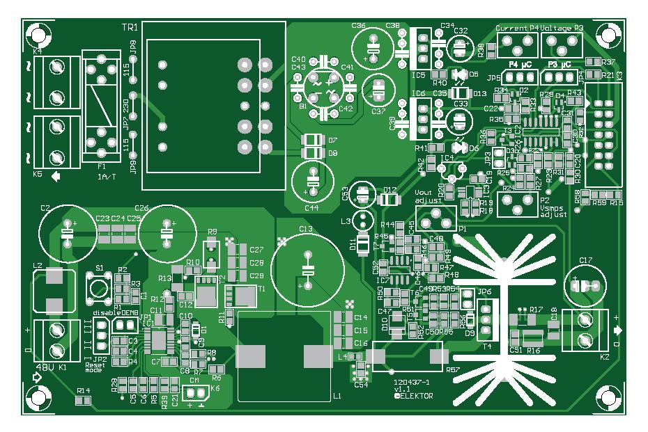 VariLab 402 (Main PCB) (120437-1)