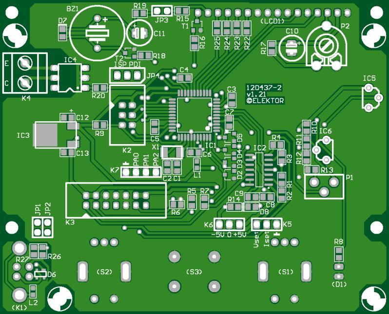 VariLab 402 (Control PCB) (120437-2)