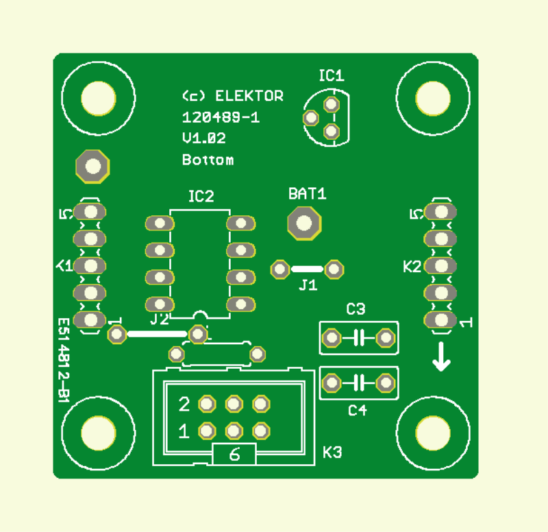 Realistic LED Candle (Controller-PCB)