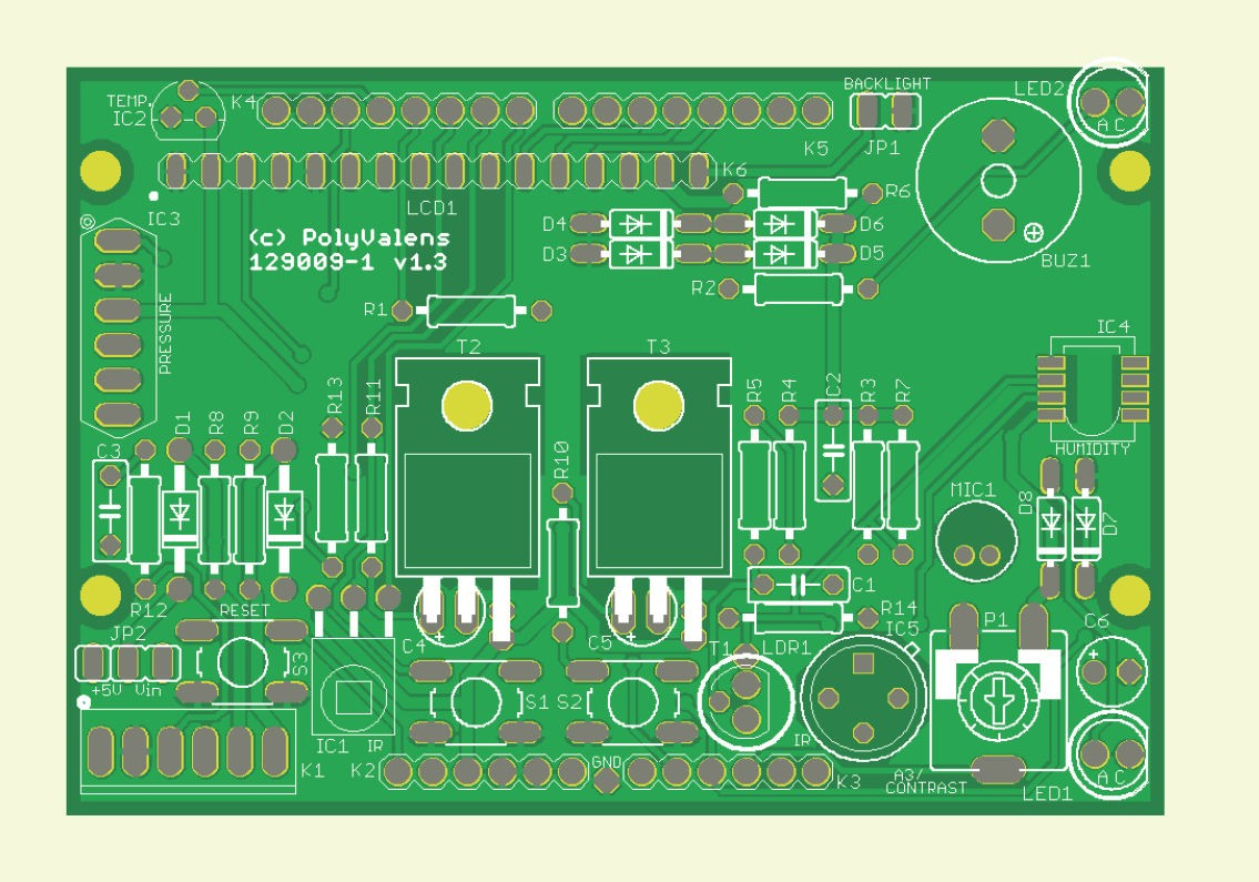 Arduino Multipurpose Shield (129009-1 / 150242)