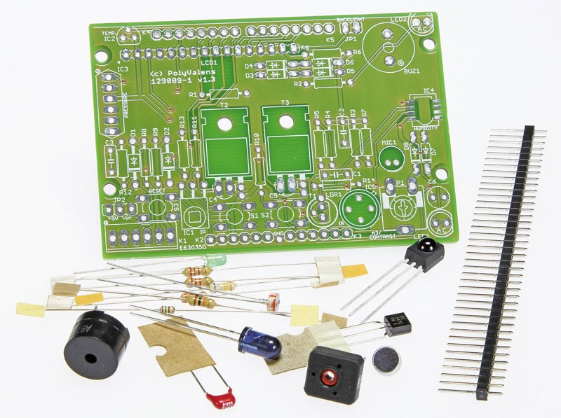 Kit of parts for the book 'Mastering Microcontrollers Helped by Arduino' (129009-71)