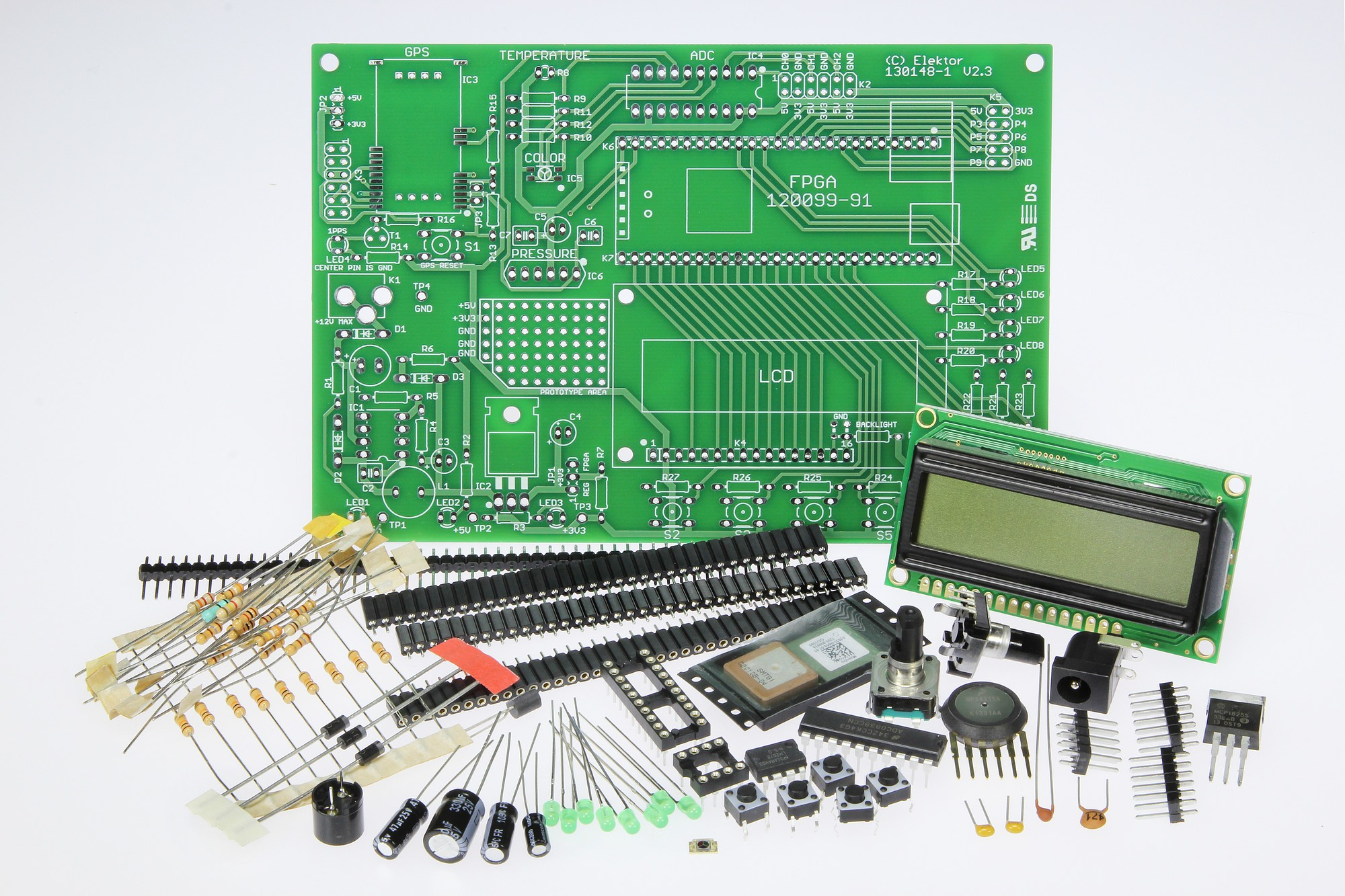 Multi I/O for FPGA Development Board (130148-71)