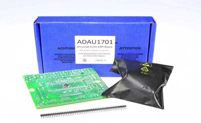 ADAU1701 Universal Audio DSP Board (130232-71)