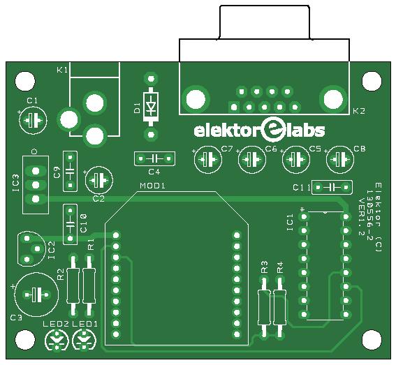 Elektor ZigTexter Network, transmitter (130556-2)