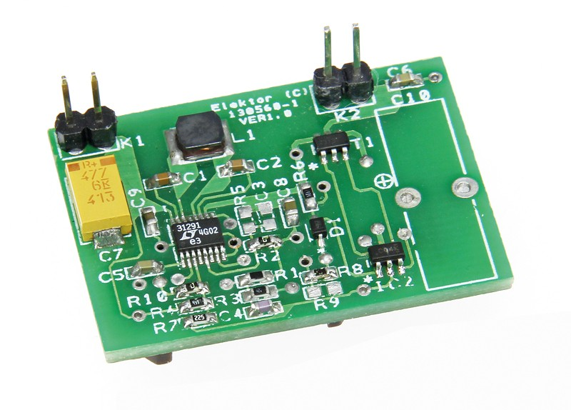 Solar Panel Voltage Converter for IoT Devices