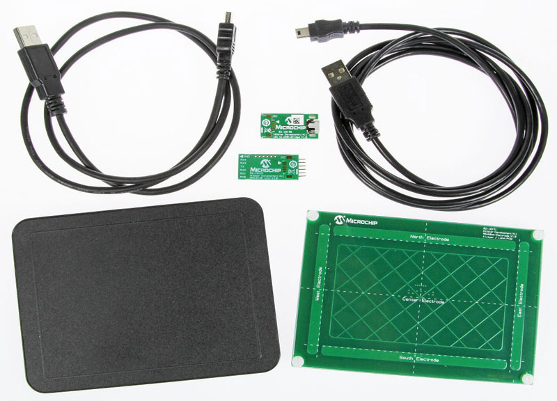 Microchip DM160218 Hillstar Development Kit and DM160225 3D Touchpad (140423-91)