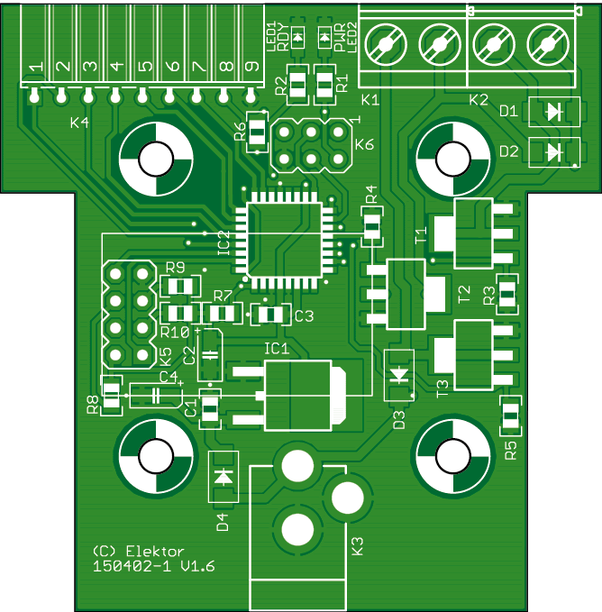 WiFi controller board with Android app (150402-1)