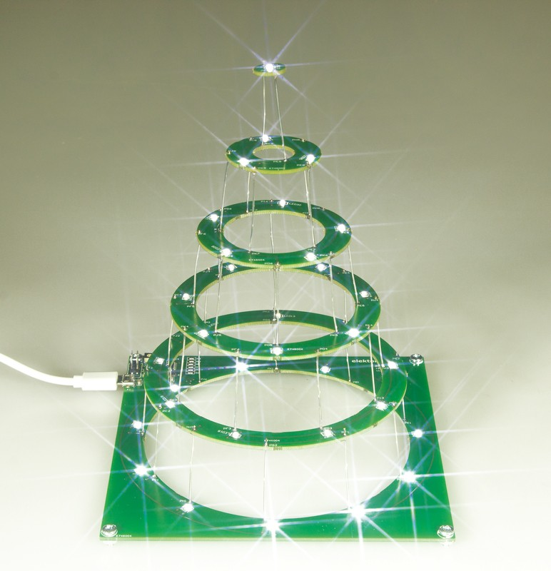 Circular Christmas tree (semi-kit | 150453-71)