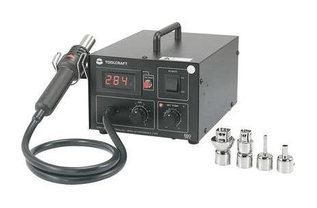 Toolcraft AT850D Hot Air Soldering Digital 550 W