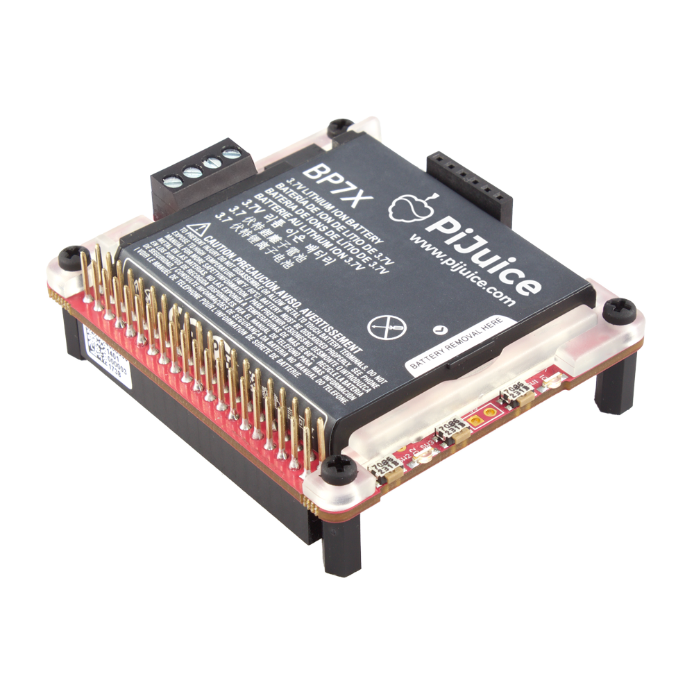 PiJuice HAT – Portable Power for Raspberry Pi