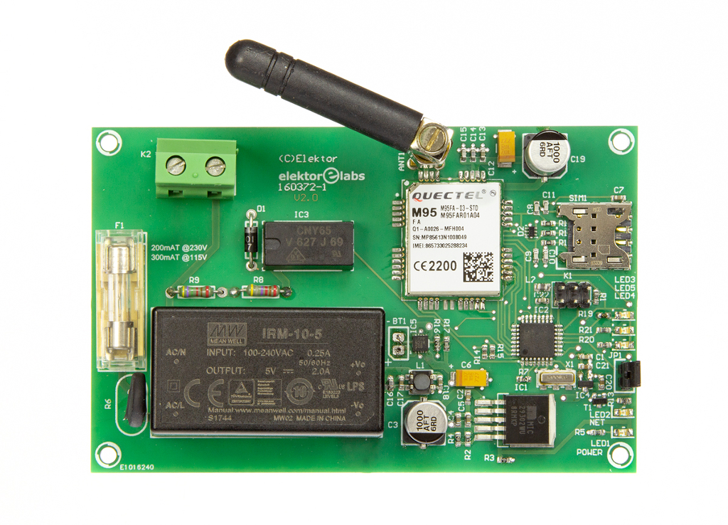 Mains outage detector (Kit   160372-91)