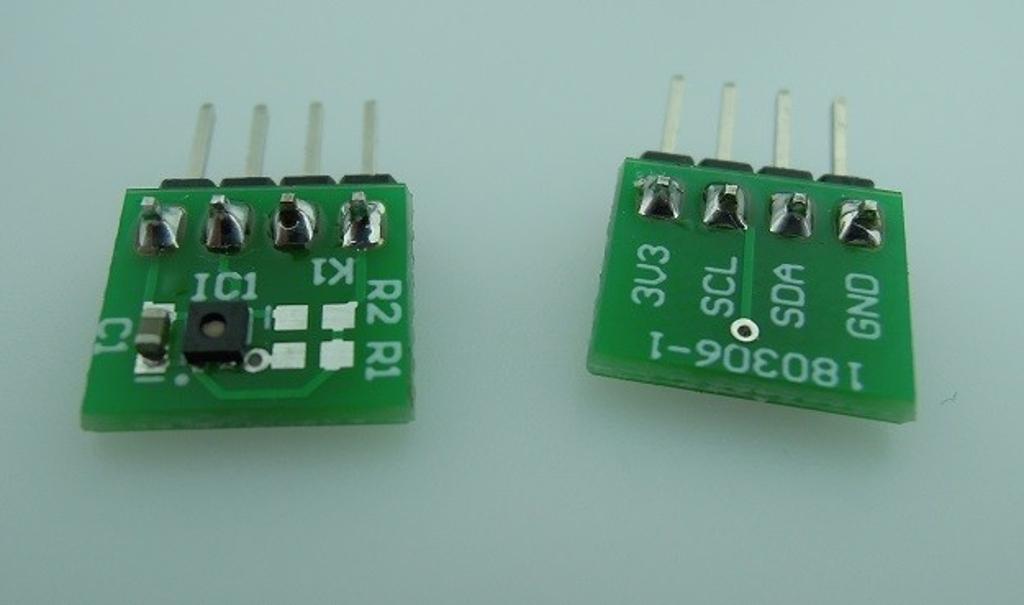 ENS210 humidity sensor BoB - partly assembled (180306-91)