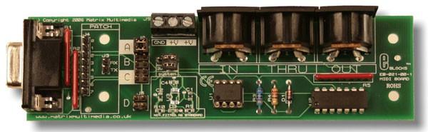 MIDI board (EB021)