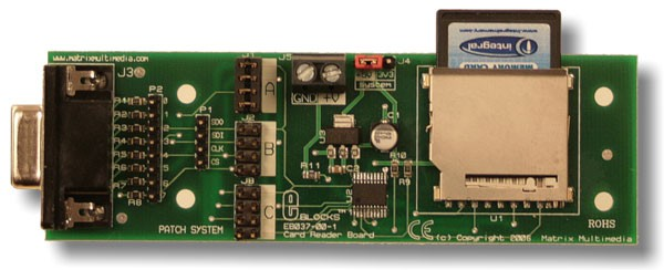SD/MMC card reader board (EB037)