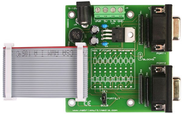 Raspberry Pi expansion board and case kit (EB385)