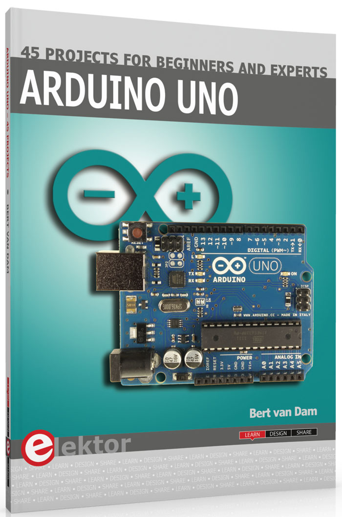 Arduino Uno - 45 Projects for Beginners and Experts