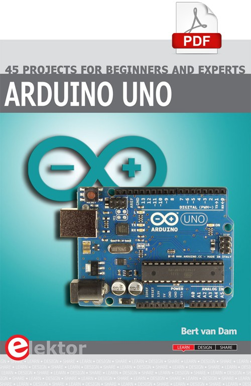 E-book: Arduino Uno – 45 Projects for Beginners