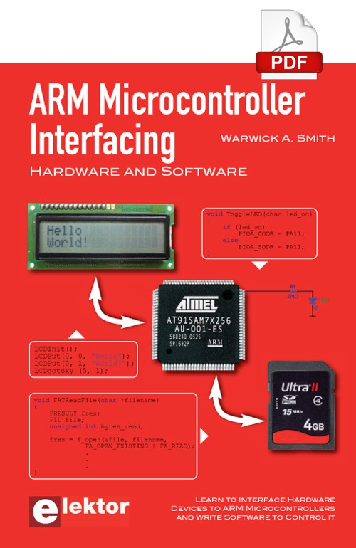 ARM Microcontroller Interfacing (E-book)