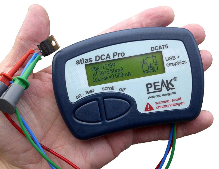 Atlas DCA75 Pro – Advanced Semiconductor Analyser