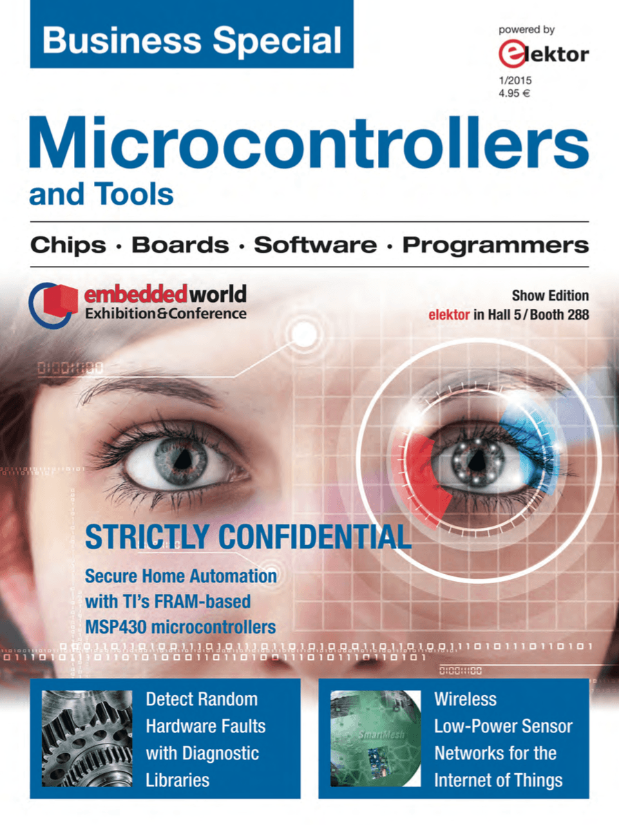 Business Special Microcontrollers and Tools (2015)