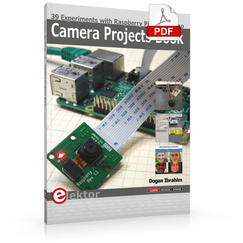 Review: Camera Projects Book — 39 Experiments with Raspberry