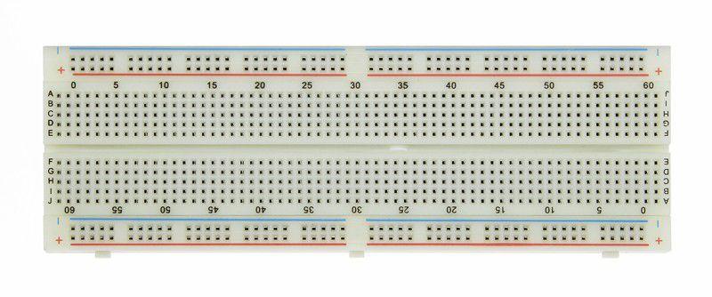 large sixe electronics circuit breadboard