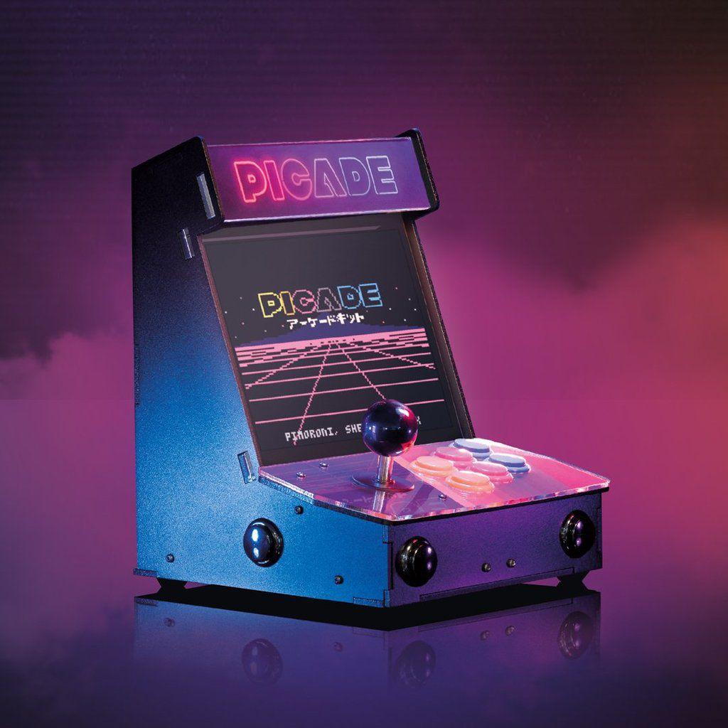 Picade Desktop Retro Arcade Machine 10 Inch Display Elektor