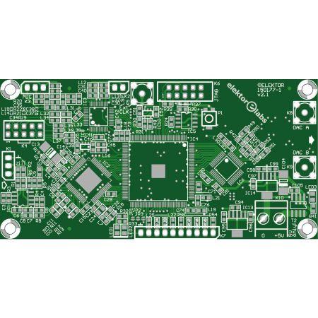 FPGA-DSP Board for Narrowband SDR mainboard - bare PCB V2.1 (150177-1)
