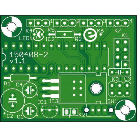 4-Channel remote control (NRF24L01 receiver) -