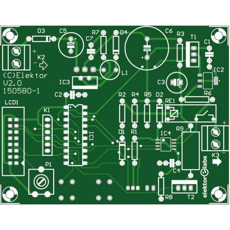 Li-Ion Charger - bare PCB (150580-1)