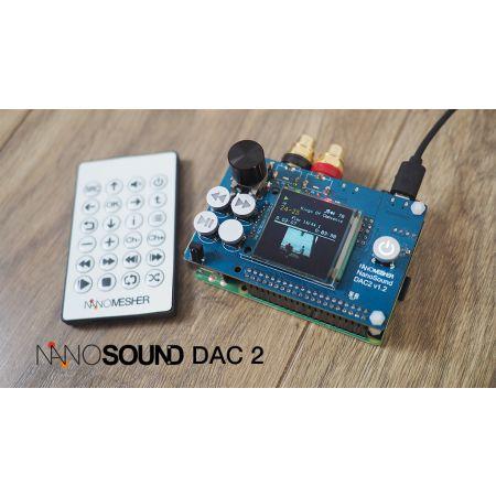 NanoSound DAC 2 Pro for RPi - Overview