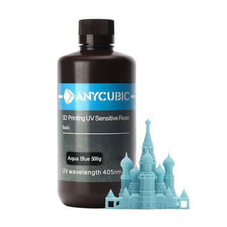 Anycubic UV Resin 500 ml (Blue)