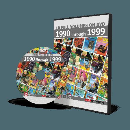 DVD Elektor 1990 through 1999