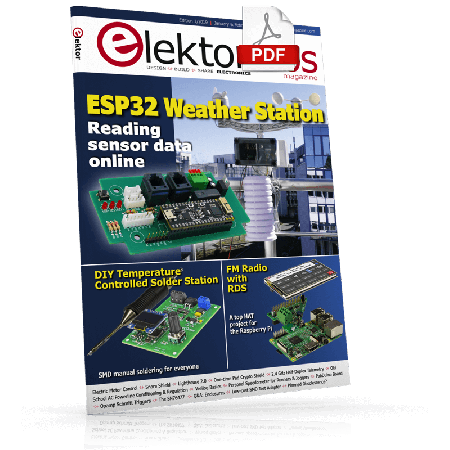 Elektor Magazine EN January/February 2019 (PDF)