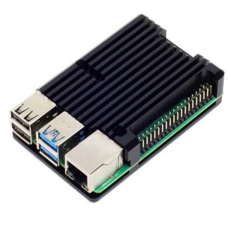 Pimoroni Aluminium Heatsink Case for Raspberry Pi 4