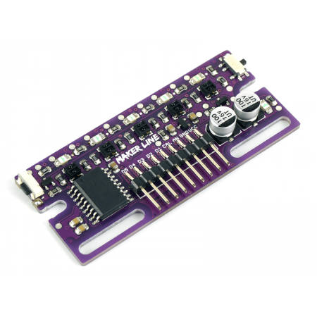 Cytron Maker Line: Simplifying Line Sensor for Beginner
