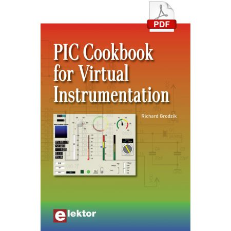 PIC Cookbook for Virtual Instrumentation (E-book)