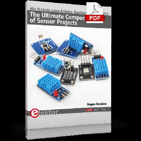 The Ultimate Compendium of Sensor Projects (E-book)