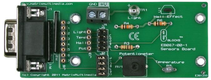 Sensors board (EB067)