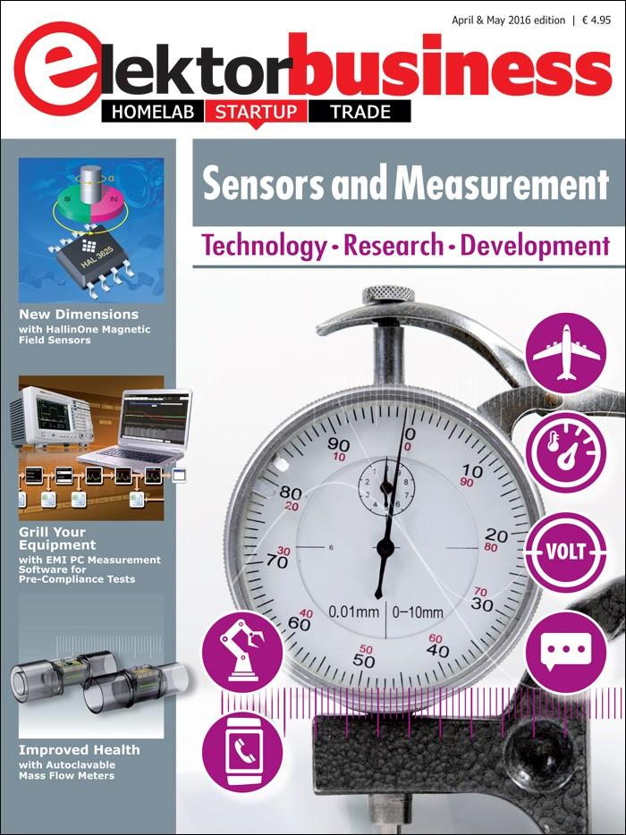 Elektor Business Sensors and Measurement (2016)