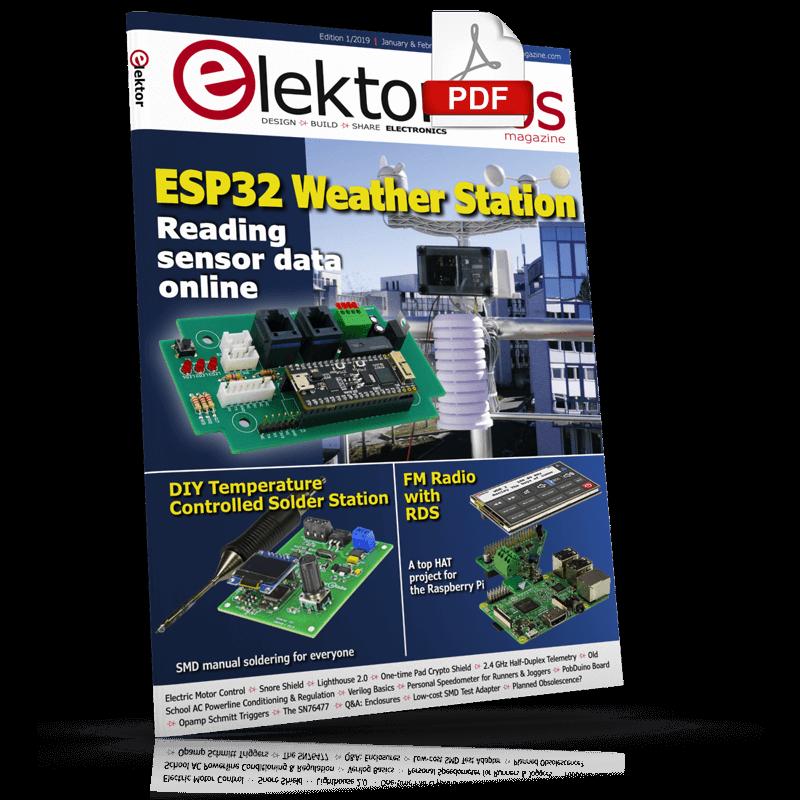 ElektorLabs Magazine January/February 2019 (PDF)