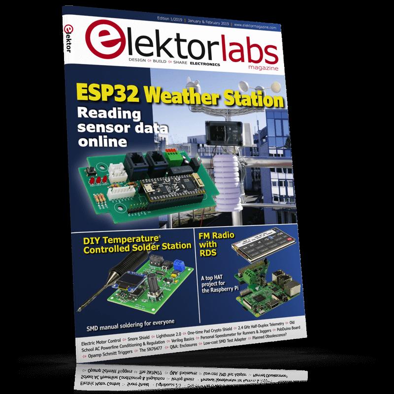 ElektorLabs Magazine January/February 2019